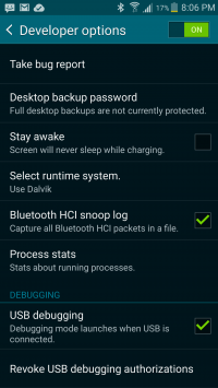 Bluetooth sniff enable location in android